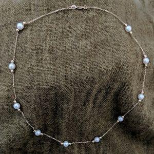 Jewelry - 14k Gold Mini Pearl Chain